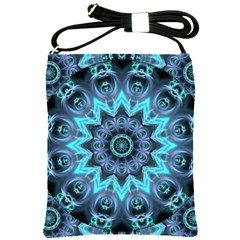 Star Connection, Abstract Cosmic Constellation Shoulder Sling Bag