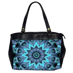 Star Connection, Abstract Cosmic Constellation Oversize Office Handbag (two Sides) by DianeClancy