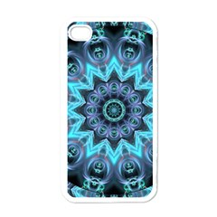 Star Connection, Abstract Cosmic Constellation Apple Iphone 4 Case (white) by DianeClancy