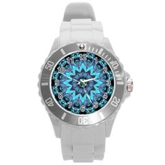 Star Connection, Abstract Cosmic Constellation Plastic Sport Watch (large) by DianeClancy