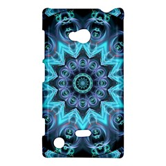 Star Connection, Abstract Cosmic Constellation Nokia Lumia 720 Hardshell Case by DianeClancy