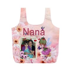Nana Fairy Medium Recycle Bag By Kim Blair   Full Print Recycle Bag (m)   Cafqq7gxhv55   Www Artscow Com Front