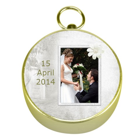 Wedding Gold Compass By Deborah   Gold Compass   Xxzcc7b5v04q   Www Artscow Com Front