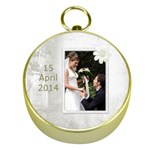Wedding Gold Compass