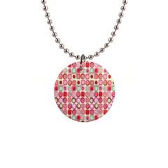 Far Out Geometrics Button Necklace