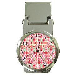 Far Out Geometrics Money Clip With Watch