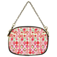 Far Out Geometrics Chain Purse (two Sided)  by StuffOrSomething