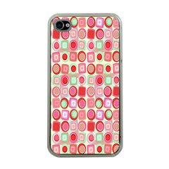 Far Out Geometrics Apple Iphone 4 Case (clear) by StuffOrSomething
