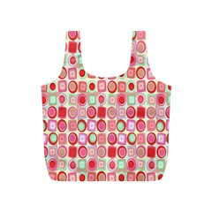 Far Out Geometrics Reusable Bag (s) by StuffOrSomething