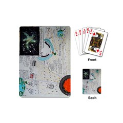 Neutrino Gravity, Playing Cards (mini) by creationtruth