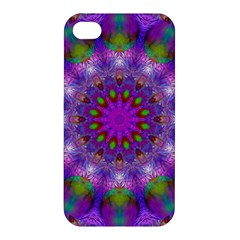 Rainbow At Dusk, Abstract Star Of Light Apple Iphone 4/4s Premium Hardshell Case by DianeClancy