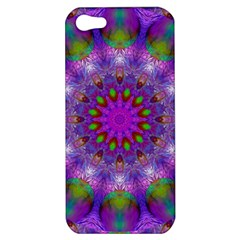 Rainbow At Dusk, Abstract Star Of Light Apple Iphone 5 Hardshell Case by DianeClancy