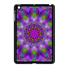 Rainbow At Dusk, Abstract Star Of Light Apple Ipad Mini Case (black) by DianeClancy