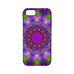 Rainbow At Dusk, Abstract Star Of Light Apple iPhone 5 Classic Hardshell Case (PC+Silicone) by DianeClancy