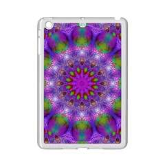 Rainbow At Dusk, Abstract Star Of Light Apple Ipad Mini 2 Case (white) by DianeClancy
