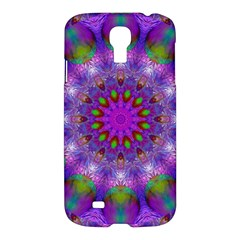 Rainbow At Dusk, Abstract Star Of Light Samsung Galaxy S4 I9500/i9505 Hardshell Case by DianeClancy