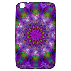 Rainbow At Dusk, Abstract Star Of Light Samsung Galaxy Tab 3 (8 ) T3100 Hardshell Case  by DianeClancy
