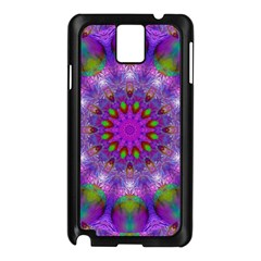 Rainbow At Dusk, Abstract Star Of Light Samsung Galaxy Note 3 N9005 Case (black) by DianeClancy