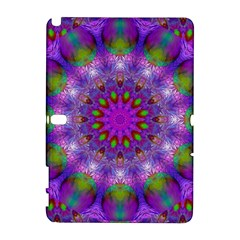 Rainbow At Dusk, Abstract Star Of Light Samsung Galaxy Note 10 1 (p600) Hardshell Case by DianeClancy
