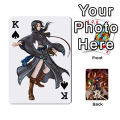 King Fire Emblem Radiant Dawn By Cheesedork   Playing Cards 54 Designs   K9l9xjdog2te   Www Artscow Com Front - SpadeK