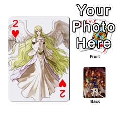 Fire Emblem Radiant Dawn By Cheesedork   Playing Cards 54 Designs   K9l9xjdog2te   Www Artscow Com Front - Heart2