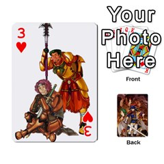 Fire Emblem Radiant Dawn By Cheesedork   Playing Cards 54 Designs   K9l9xjdog2te   Www Artscow Com Front - Heart3