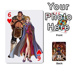 Fire Emblem Radiant Dawn By Cheesedork   Playing Cards 54 Designs   K9l9xjdog2te   Www Artscow Com Front - Heart6