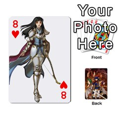 Fire Emblem Radiant Dawn By Cheesedork   Playing Cards 54 Designs   K9l9xjdog2te   Www Artscow Com Front - Heart8