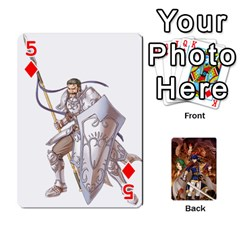 Fire Emblem Radiant Dawn By Cheesedork   Playing Cards 54 Designs   K9l9xjdog2te   Www Artscow Com Front - Diamond5