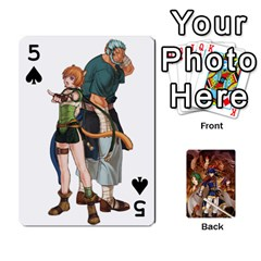 Fire Emblem Radiant Dawn By Cheesedork   Playing Cards 54 Designs   K9l9xjdog2te   Www Artscow Com Front - Spade5