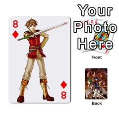 Fire Emblem Radiant Dawn By Cheesedork   Playing Cards 54 Designs   K9l9xjdog2te   Www Artscow Com Front - Diamond8