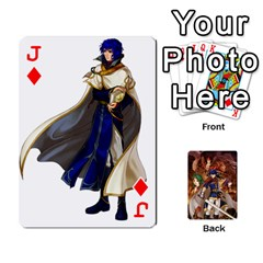 Jack Fire Emblem Radiant Dawn By Cheesedork   Playing Cards 54 Designs   K9l9xjdog2te   Www Artscow Com Front - DiamondJ