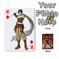 King Fire Emblem Radiant Dawn By Cheesedork   Playing Cards 54 Designs   K9l9xjdog2te   Www Artscow Com Front - DiamondK