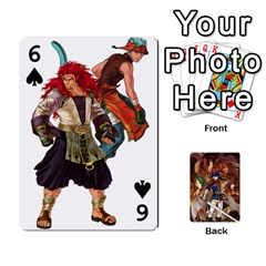 Fire Emblem Radiant Dawn By Cheesedork   Playing Cards 54 Designs   K9l9xjdog2te   Www Artscow Com Front - Spade6
