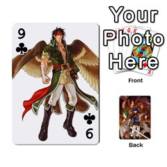 Fire Emblem Radiant Dawn By Cheesedork   Playing Cards 54 Designs   K9l9xjdog2te   Www Artscow Com Front - Club9