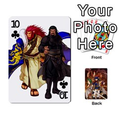 Fire Emblem Radiant Dawn By Cheesedork   Playing Cards 54 Designs   K9l9xjdog2te   Www Artscow Com Front - Club10