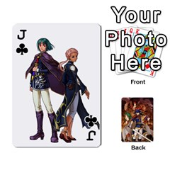 Jack Fire Emblem Radiant Dawn By Cheesedork   Playing Cards 54 Designs   K9l9xjdog2te   Www Artscow Com Front - ClubJ