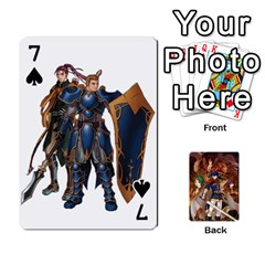 Fire Emblem Radiant Dawn By Cheesedork   Playing Cards 54 Designs   K9l9xjdog2te   Www Artscow Com Front - Spade7