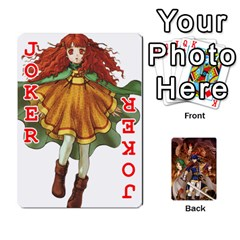 Fire Emblem Radiant Dawn By Cheesedork   Playing Cards 54 Designs   K9l9xjdog2te   Www Artscow Com Front - Joker2