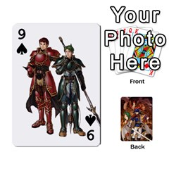 Fire Emblem Radiant Dawn By Cheesedork   Playing Cards 54 Designs   K9l9xjdog2te   Www Artscow Com Front - Spade9