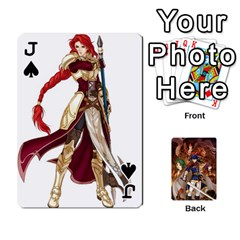Jack Fire Emblem Radiant Dawn By Cheesedork   Playing Cards 54 Designs   K9l9xjdog2te   Www Artscow Com Front - SpadeJ
