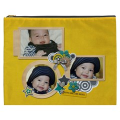 Cosmetic Bag (xxxl): Boys1 By Jennyl   Cosmetic Bag (xxxl)   2dkx0jn2dv99   Www Artscow Com Front