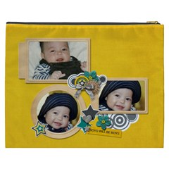 Cosmetic Bag (xxxl): Boys1 By Jennyl   Cosmetic Bag (xxxl)   2dkx0jn2dv99   Www Artscow Com Back