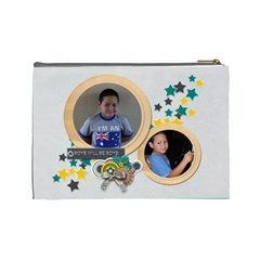 Cosmetic Bag (l) : Boys2 By Jennyl   Cosmetic Bag (large)   Yg7qeoc520s5   Www Artscow Com Back
