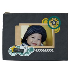 Cosmetic Bag (xxl): Too Cute By Jennyl   Cosmetic Bag (xxl)   Zndh2ibatbmm   Www Artscow Com Front