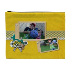 Cosmetic Bag (xl): Boys3 By Jennyl   Cosmetic Bag (xl)   Vxa4l6dhahn8   Www Artscow Com Front
