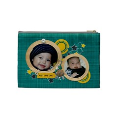 Cosmetic Bag (m): Just Like Dad By Jennyl   Cosmetic Bag (medium)   4ow3a8uxynvr   Www Artscow Com Back