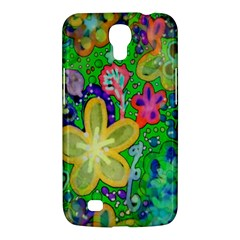 Beautiful Flower Power Batik Samsung Galaxy Mega 6 3  I9200 Hardshell Case