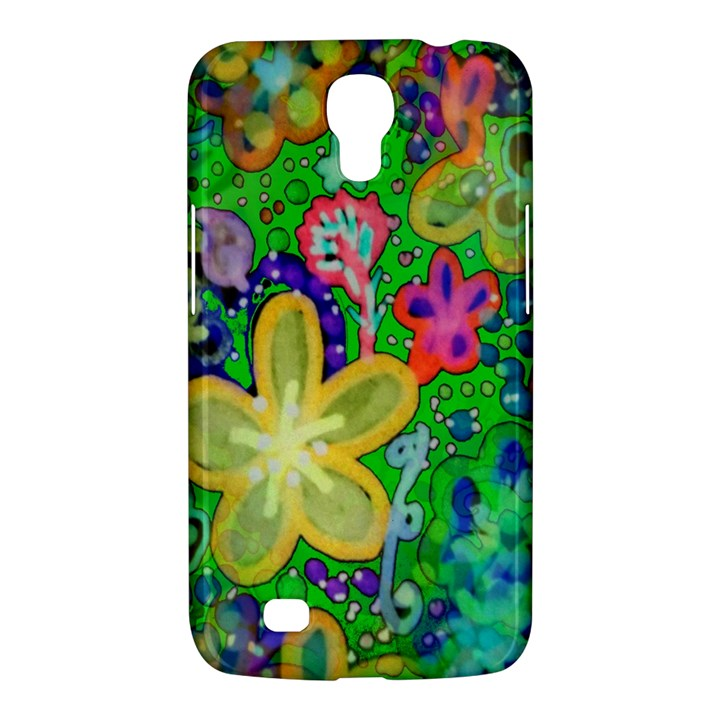 Beautiful Flower Power Batik Samsung Galaxy Mega 6.3  I9200 Hardshell Case