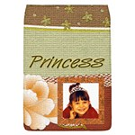 Princess Rose Large removable messenger Bag cover - Removable Flap Cover (L)